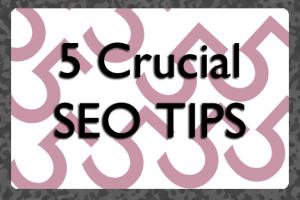 Five Crucial SEO Tips | COSO Media